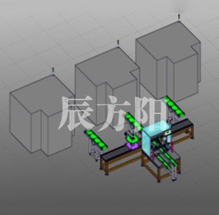 清镇电机轴类产品自动进料、加工、检测系统