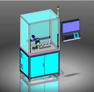 松原汽车发动机油轨产品的位置度,孔距,平面度检测设备