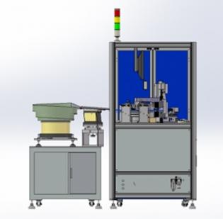 松原电阻、电容、芯片等电子小零件产品外观全尺寸检测设备