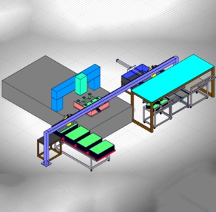 靖江金属板材切割搬运设备